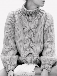 sweater big knit