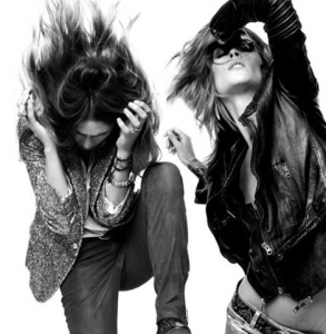 hair flipping leather