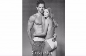 Kate Moss & Mark Wahlberg For CK