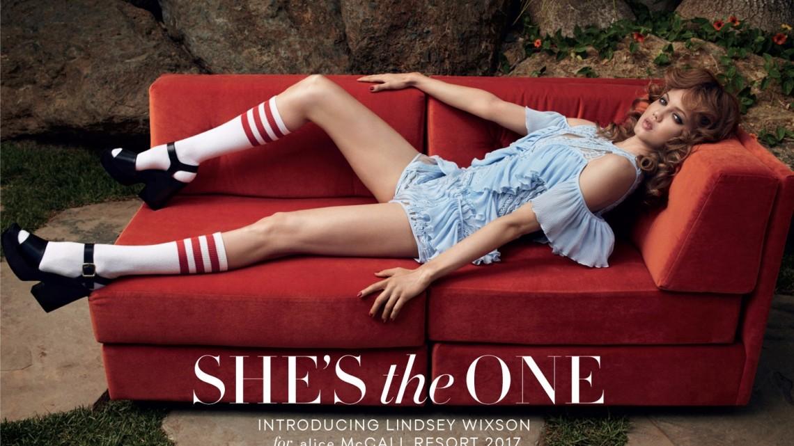 alice mccall, fashion campaign, lindsey wixon