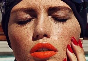 freckle fashion, freckles
