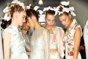 models fashion, model fashion, models backstage, model getting ready