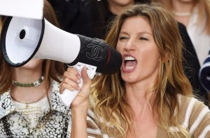 fashion whistle blower, how to be a model, gisele chanel, james scully