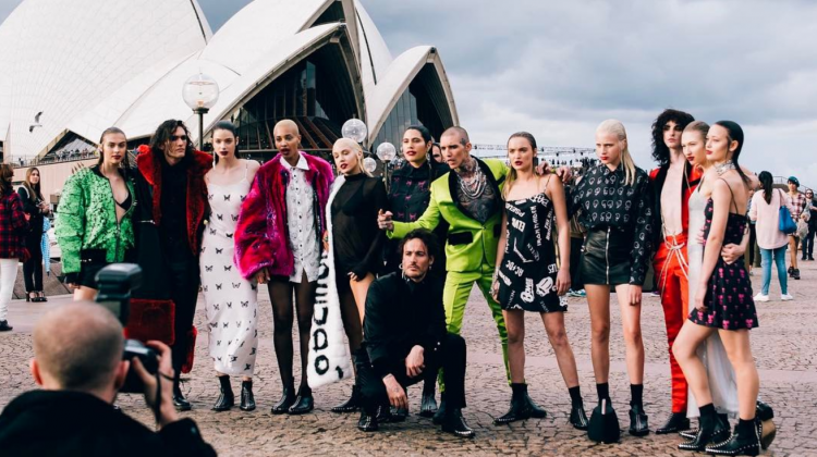 pseudo gatecrash fashion week, pseudo fashion week, mbfwa17, all my friends are models